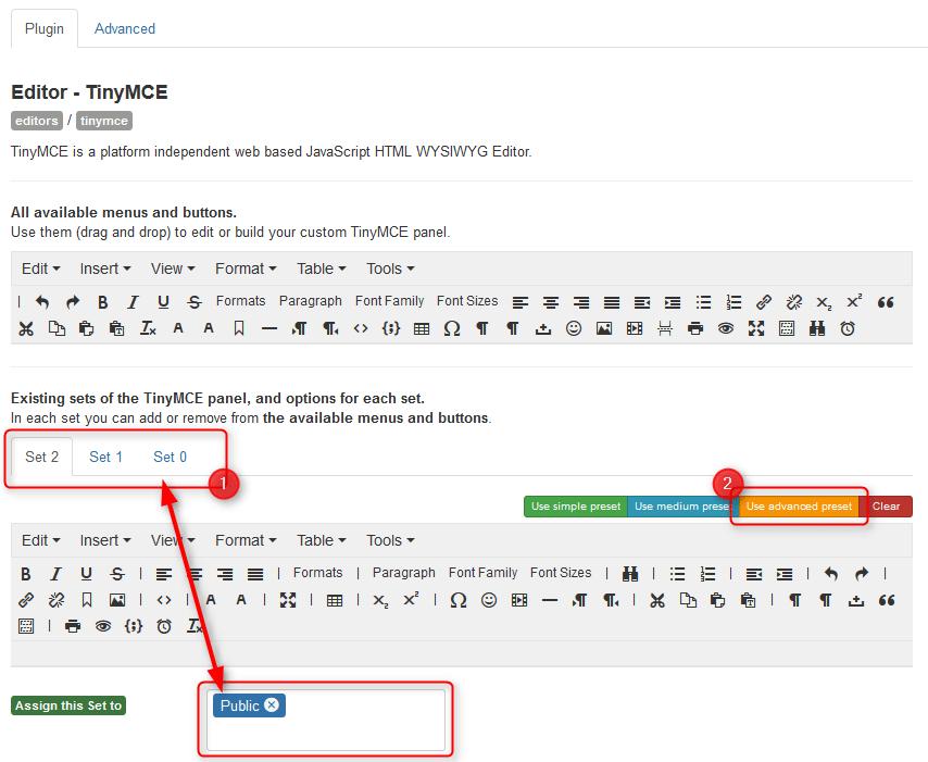 How to Enable Advanced TinyMCE in Joomla? - Joomla-Monster