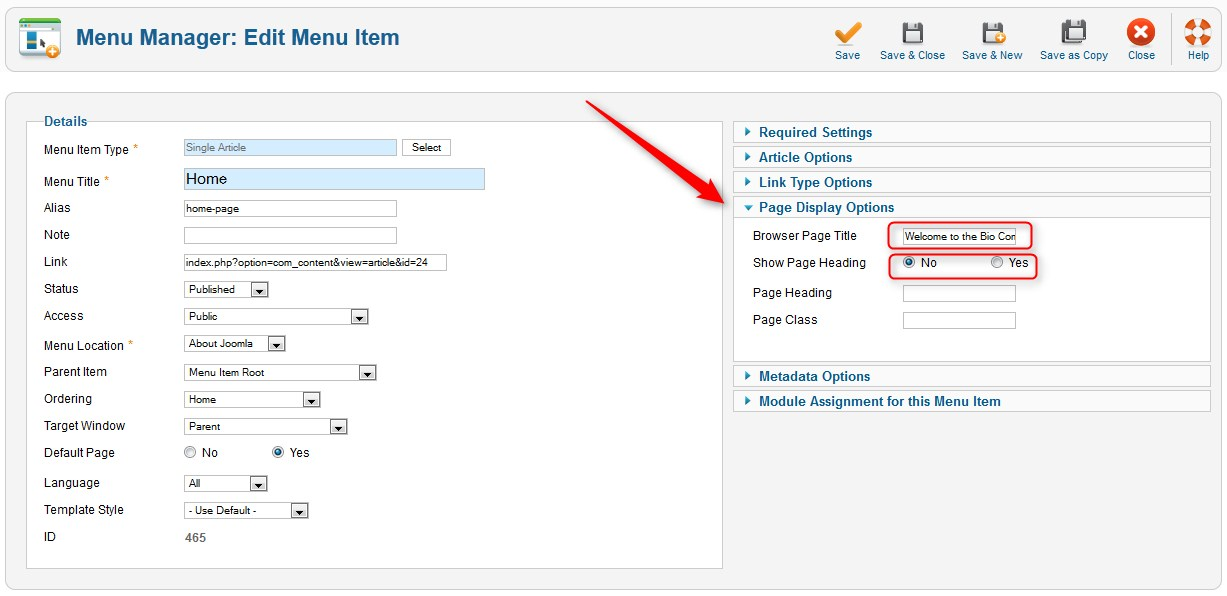"How to change ""Welcome to the frontpage"" in Joomla title?"