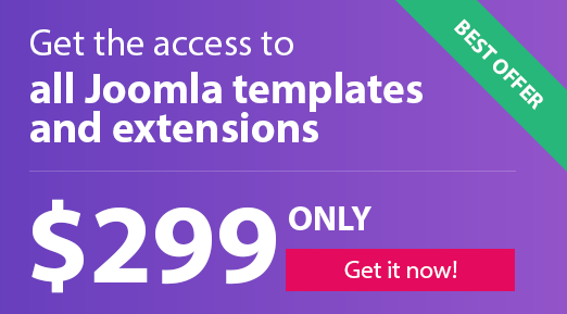 Joomla templates & extensions bundle
