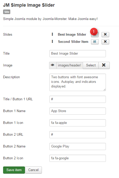 simple image slider conf 2