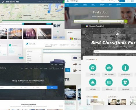 Classifieds website templates
