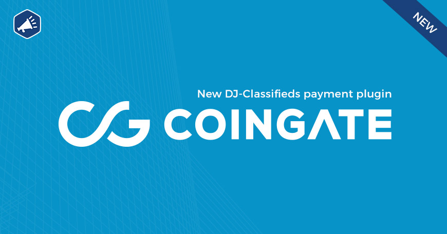CoinGate payment plugin for classifieds component for joomla