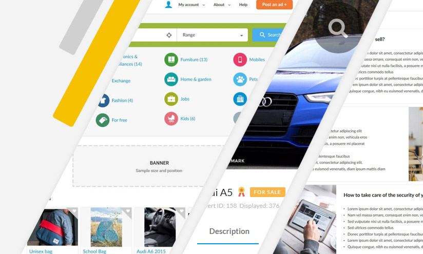best classifieds software like OLX