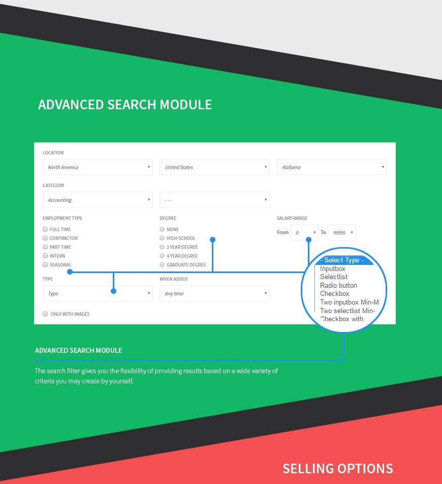 Job Classifieds Joomla Template - Joomla-Monster