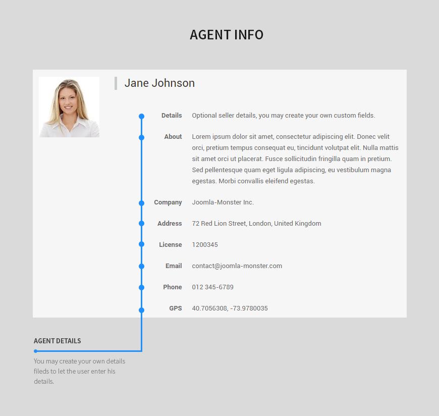 agent info