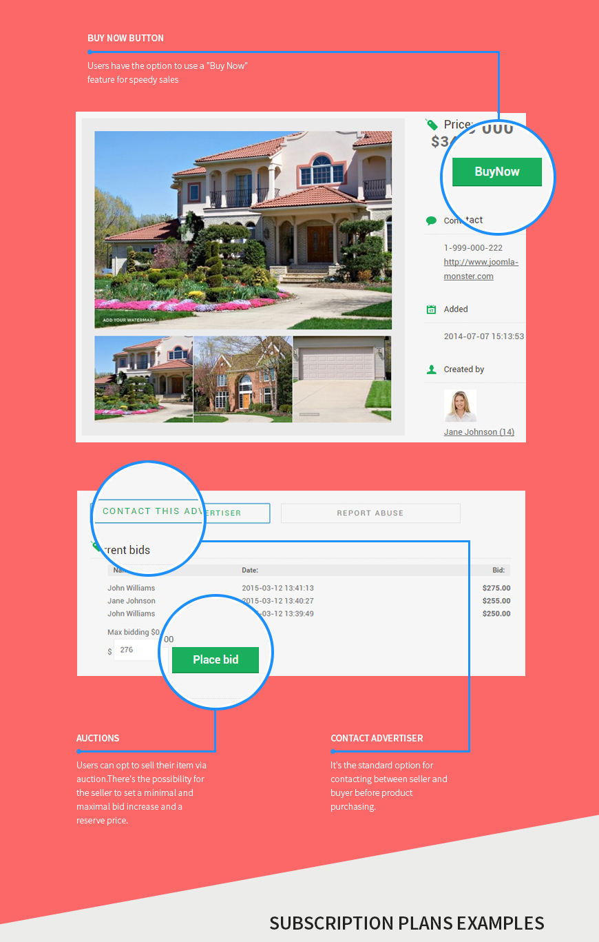 selling options real estate classifieds joomla template joomla monster  at readyjetset.co
