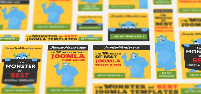 use eye catching banners joomla monster