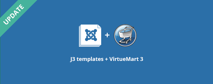 Joomla 3 VirtueMart templates updated to 3.0.12 ver. Download updated template now!