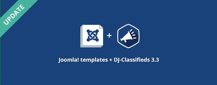 DJ-Classifieds 3.3 stable + our templates updates.