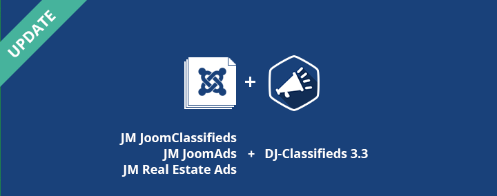 First part of 3 Joomla 3 templates + DJ-Classifieds 3.3.1 already released!