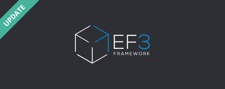 EF3 Framework updated to 3.13 version