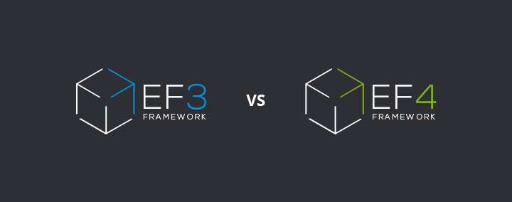 Features comparison EF3 vs EF4