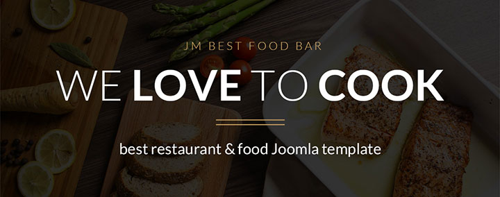JM Best Food Bar - Food and Restaurant Joomla 3 Template