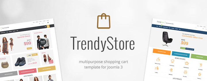 JM Trendy J2Store - Multipurpose Shopping Cart Joomla 3 Template
