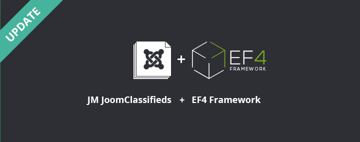 JM JoomClassifieds works with EF4 now!