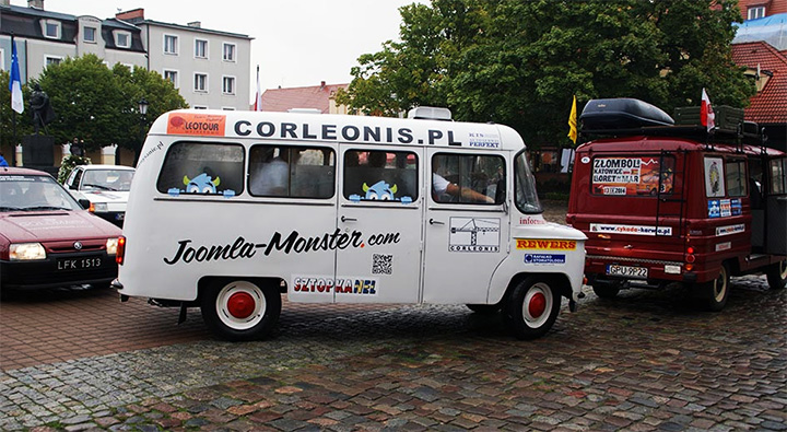 Joomla-Monster is a sponsor of Zlombol - charity car rally to help children from orphanages.