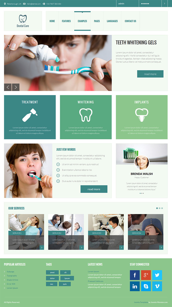 jm services dental