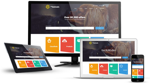 responsive joomla template classifieds