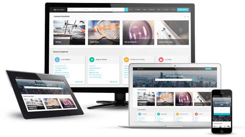 responsive joomla template classified ads