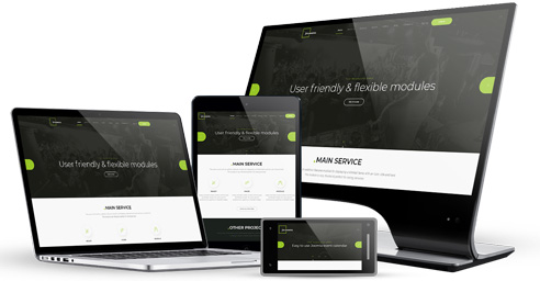 responsive events joomla template