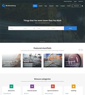 best joomla template for classifieds website