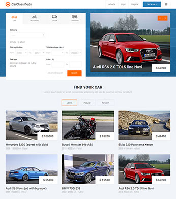 auto classifieds listings